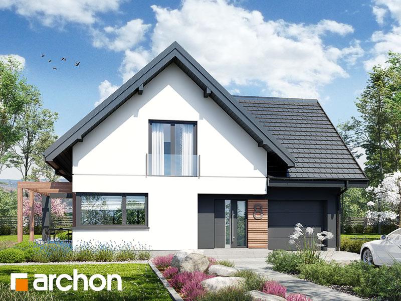 Проект будинку ARCHON+ Будинок в фаворитках 2 Вид 1