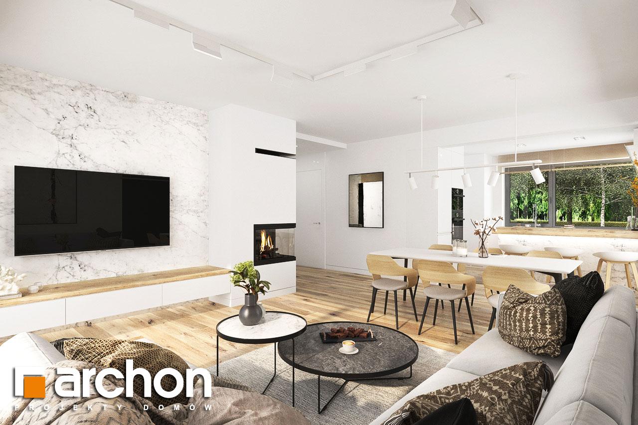 Проект будинку ARCHON+ Будинок в фаворитках 2 денна зона (візуалізація 1 від 1)