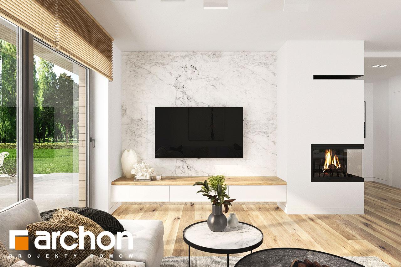 Проект будинку ARCHON+ Будинок в фаворитках 2 денна зона (візуалізація 1 від 2)