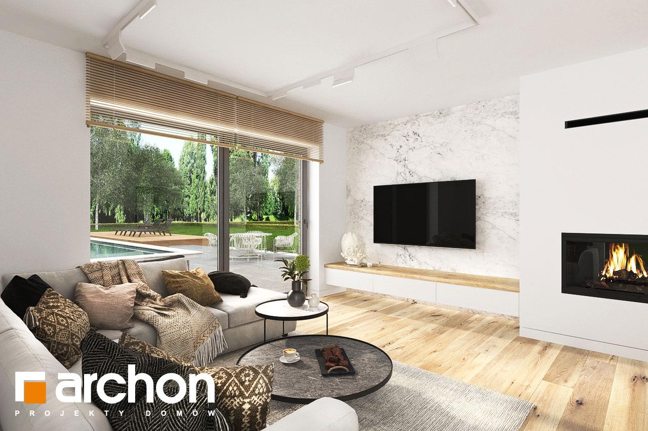 Проект будинку ARCHON+ Будинок в фаворитках 2 денна зона (візуалізація 1 від 3)