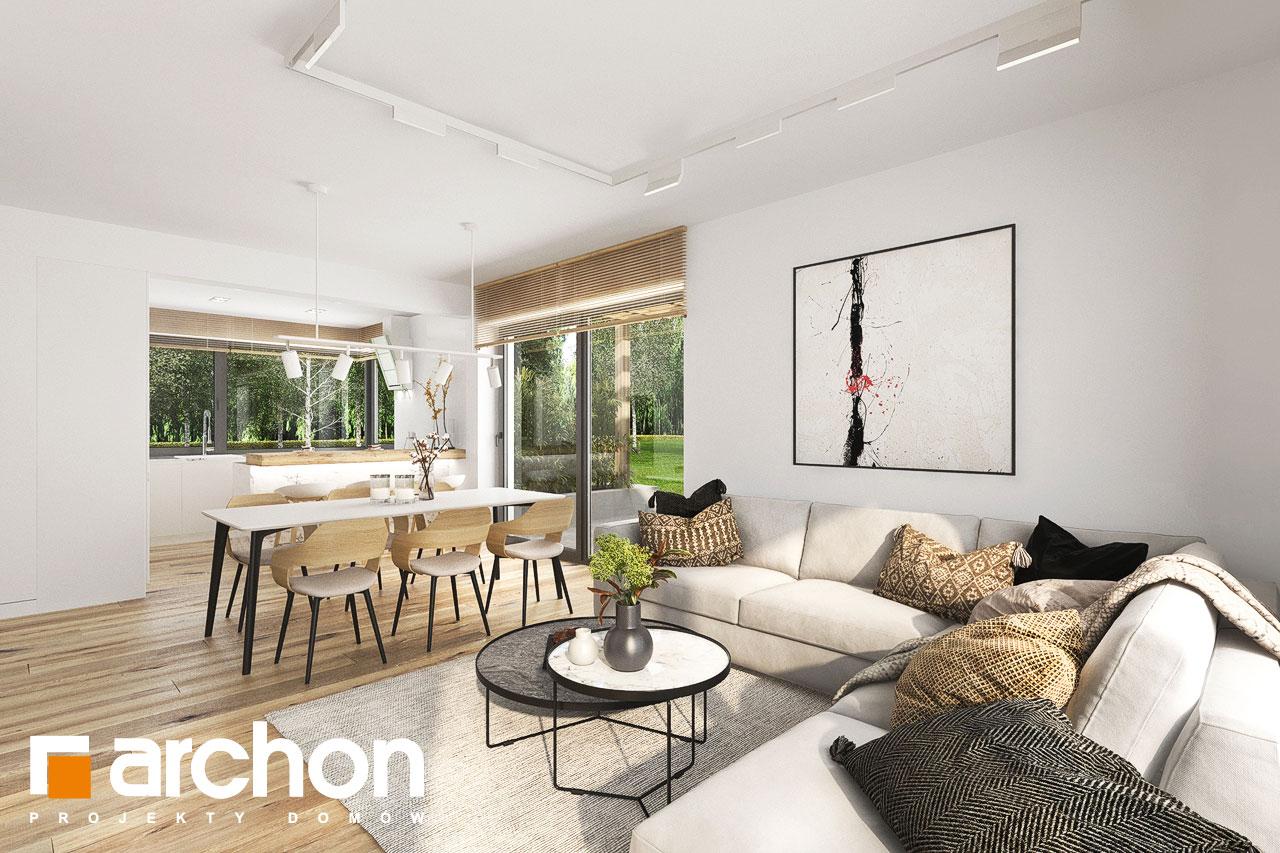Проект будинку ARCHON+ Будинок в фаворитках 2 денна зона (візуалізація 1 від 4)