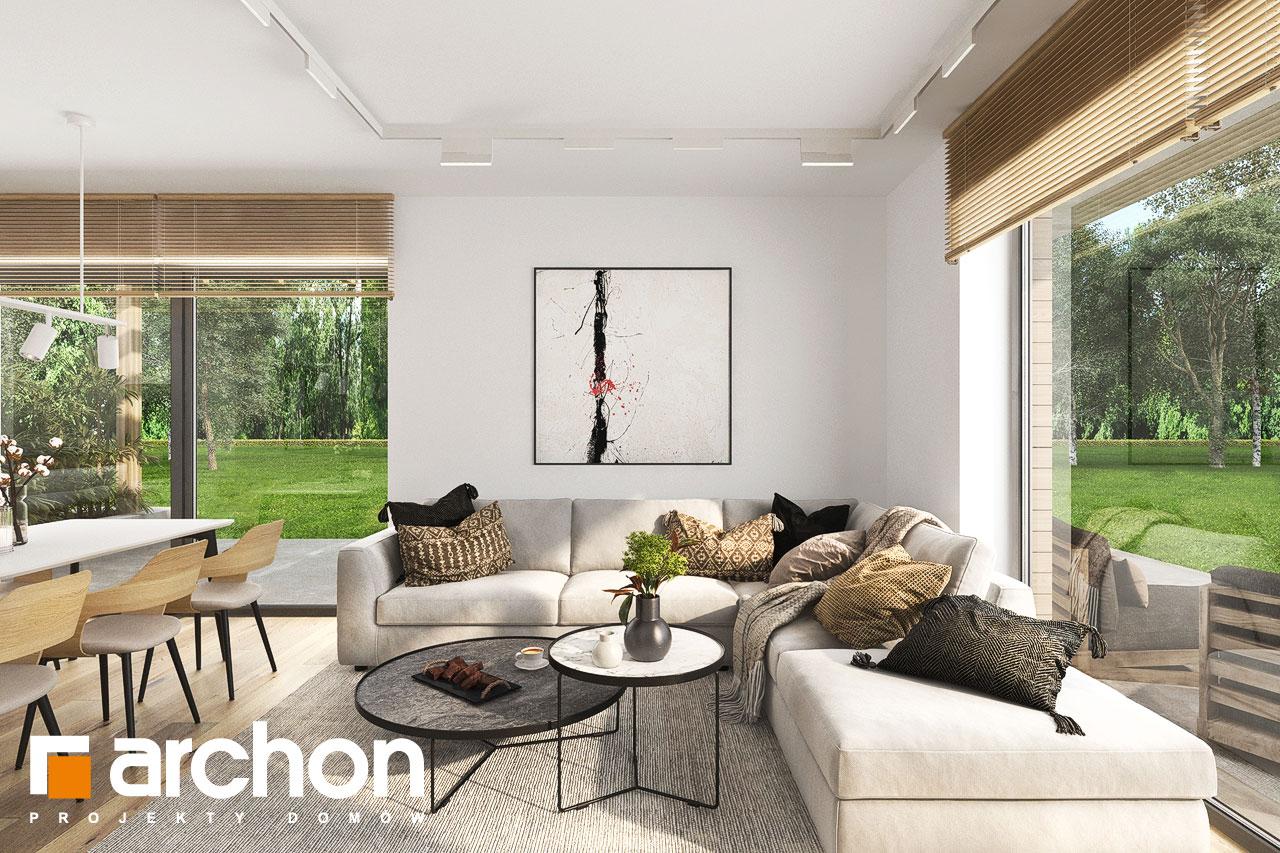 Проект будинку ARCHON+ Будинок в фаворитках 2 денна зона (візуалізація 1 від 5)