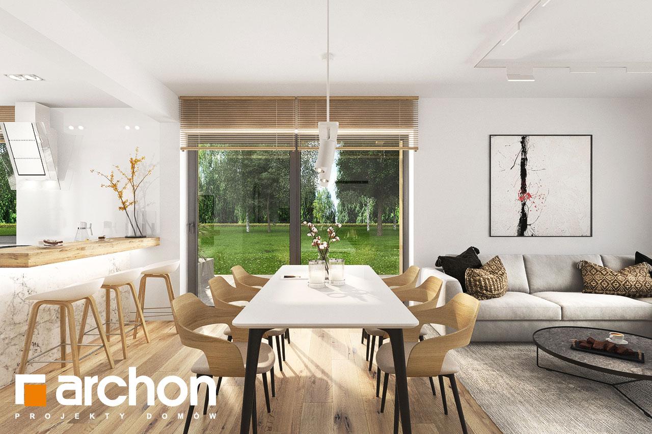 Проект будинку ARCHON+ Будинок в фаворитках 2 денна зона (візуалізація 1 від 6)