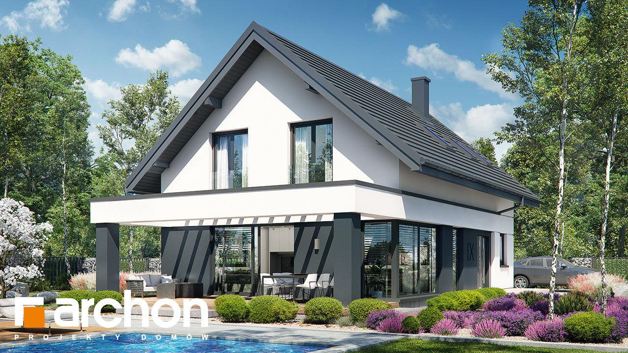 Проект будинку ARCHON+ Будинок в шишковиках 6 (Е)