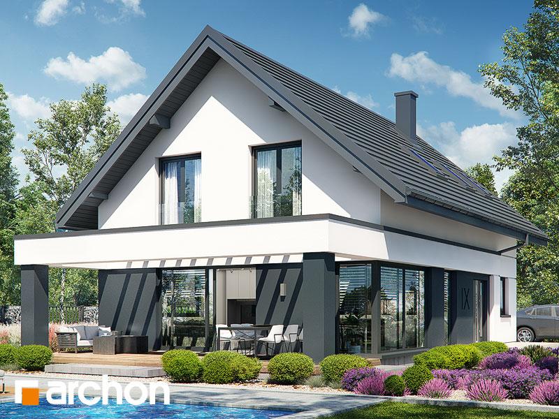 Проект будинку ARCHON+ Будинок в шишковиках 6 (Е) Вид 1