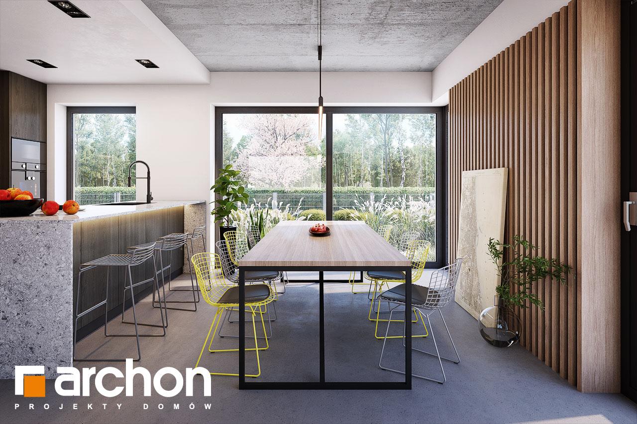 Проект будинку ARCHON+ Будинок в шишковиках 6 (Е) денна зона (візуалізація 1 від 4)