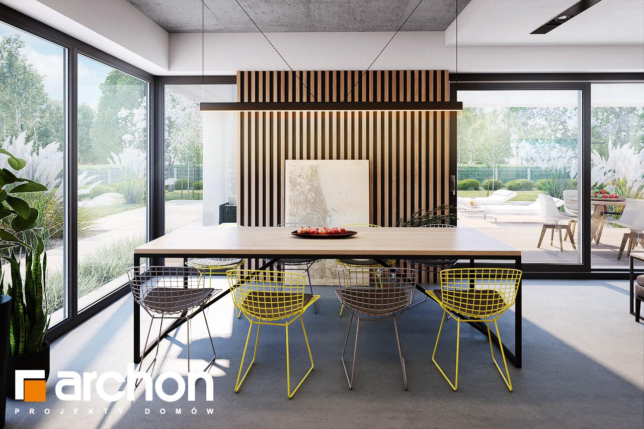 Проект будинку ARCHON+ Будинок в шишковиках 6 (Е) денна зона (візуалізація 1 від 5)