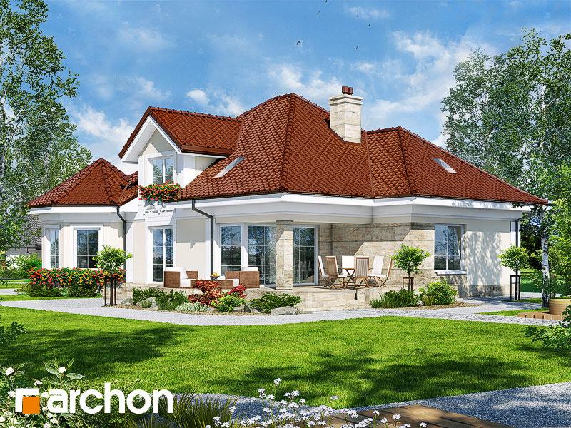 Проект будинку ARCHON+ Будинок під юкою 4 стилізація 4