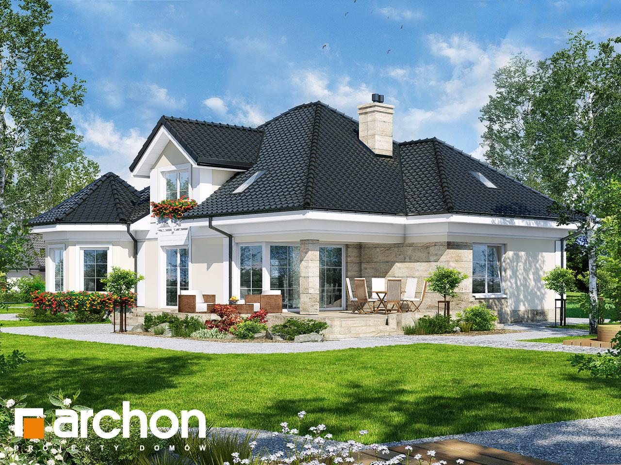 Проект будинку ARCHON+ Будинок під юкою 4 Вид 2
