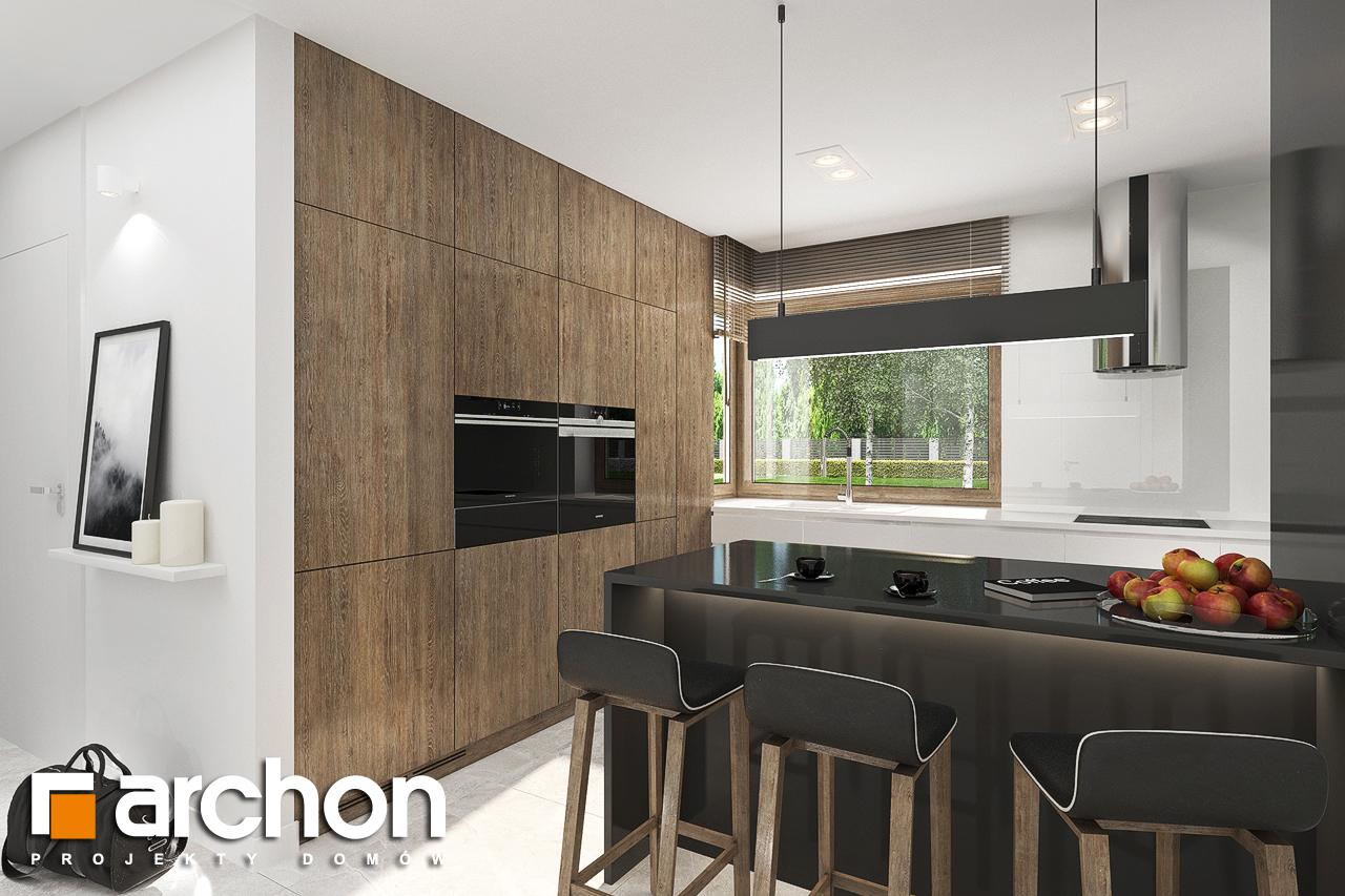 Проект будинку ARCHON+ Будинок в алоказіях візуалізація кухні 1 від 1