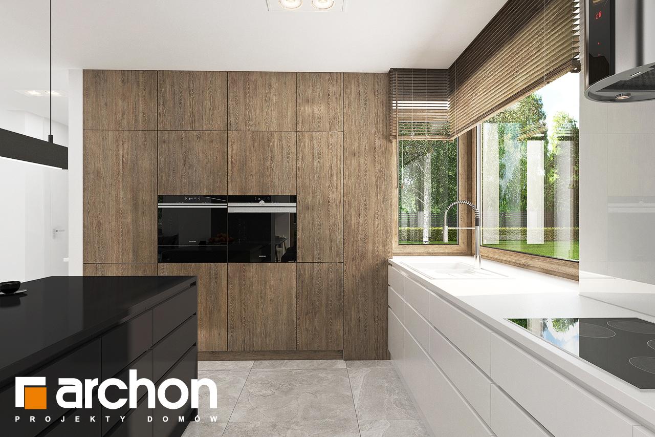 Проект будинку ARCHON+ Будинок в алоказіях візуалізація кухні 1 від 3