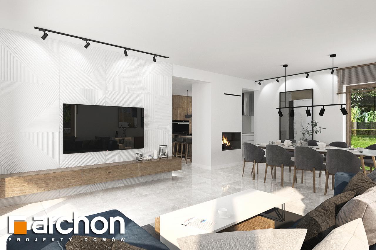 Проект будинку ARCHON+ Будинок в алоказіях денна зона (візуалізація 1 від 1)