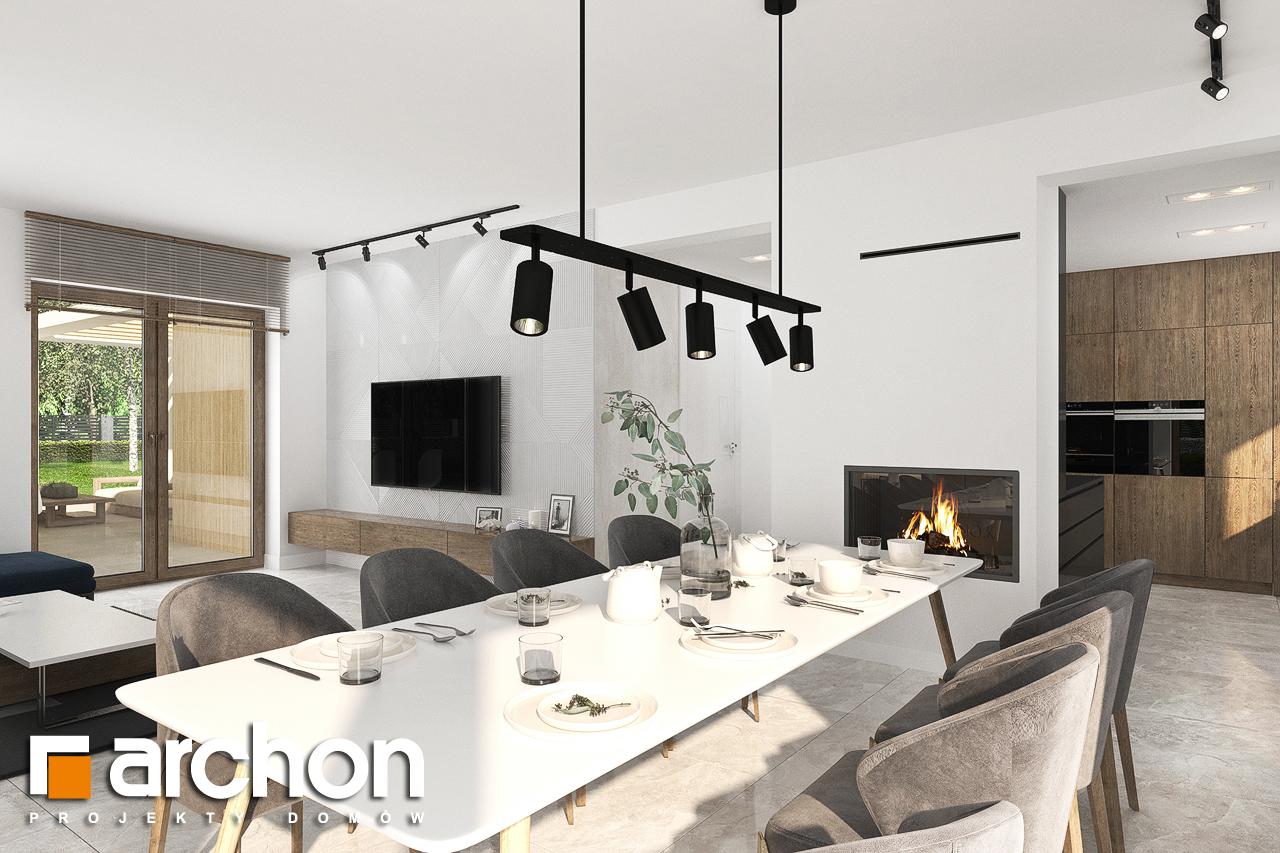 Проект будинку ARCHON+ Будинок в алоказіях денна зона (візуалізація 1 від 4)