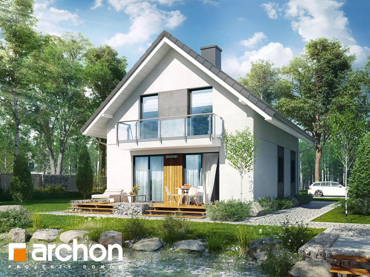 Проект будинку ARCHON+ Будинок в аркадіях 2 Вид 2