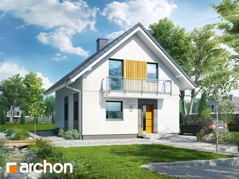 Проект будинку ARCHON+ Будинок в аркадіях 2 Вид 1