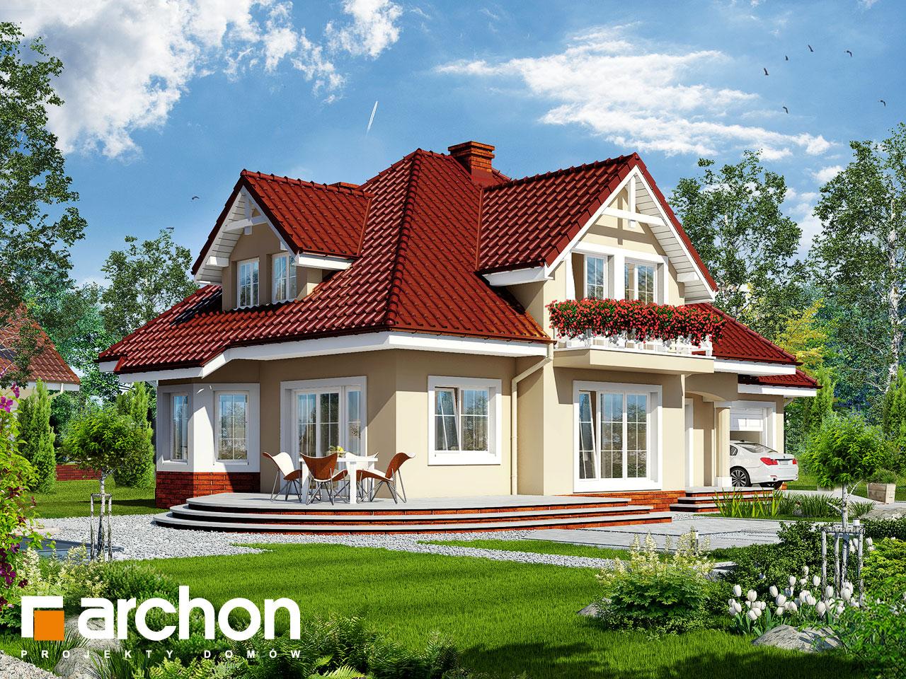 Проект будинку ARCHON+ Будинок в зорях вер.2 Вид 2