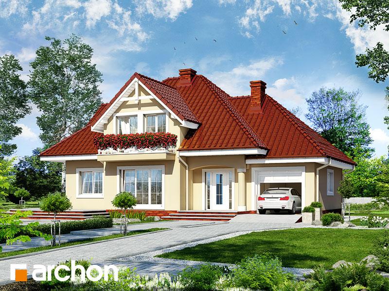 Проект будинку ARCHON+ Будинок в зорях вер.2 Вид 1