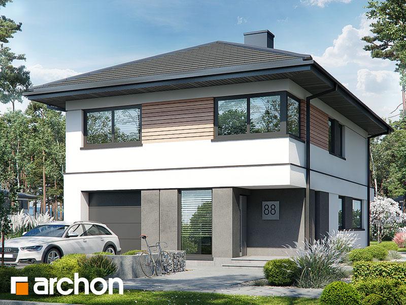 Проект будинку ARCHON+ Вілла Андреа Вид 1