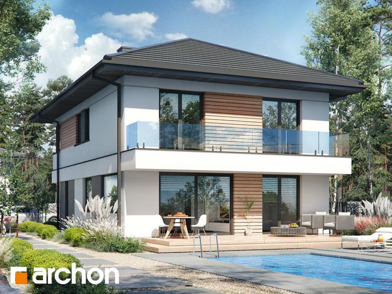 Проект будинку ARCHON+ Вілла Андреа Вид 2