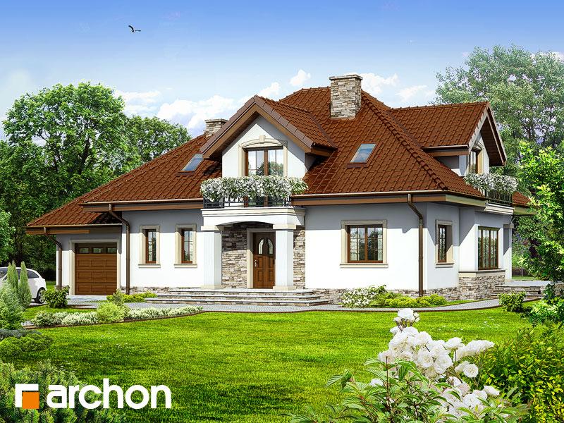 Проект будинку ARCHON+ Будинок в каллах 3 вер.2 Вид 1