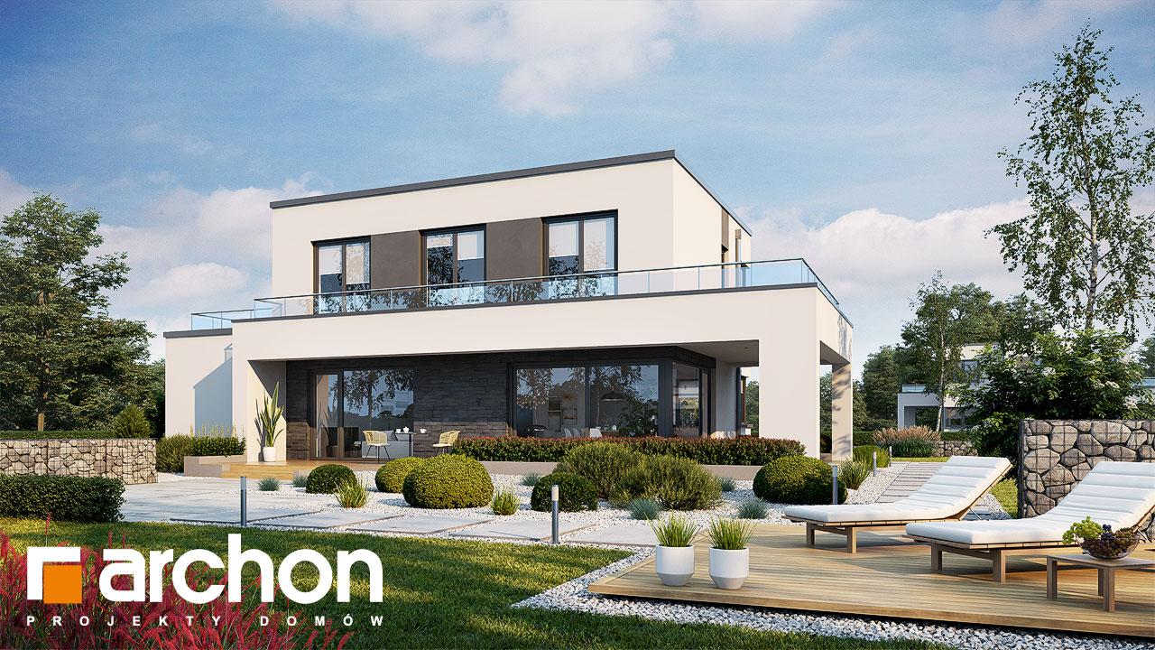 Проект будинку ARCHON+ Будинок в перенеціях додаткова візуалізація