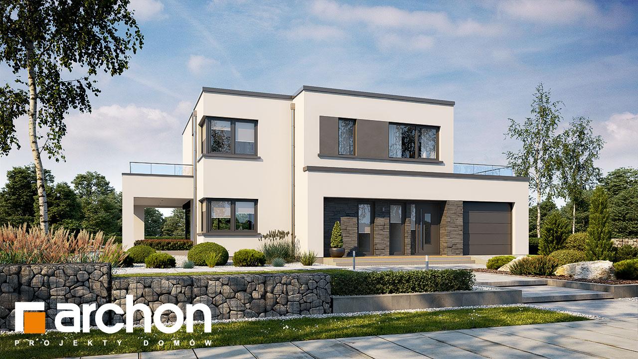 Проект будинку ARCHON+ Будинок в перенеціях Вид 2