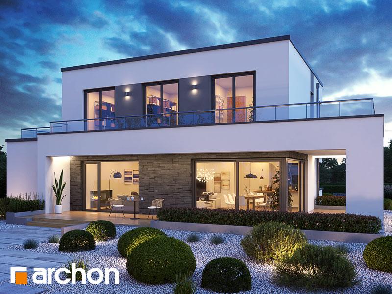 Проект будинку ARCHON+ Будинок в перенеціях Вид 1