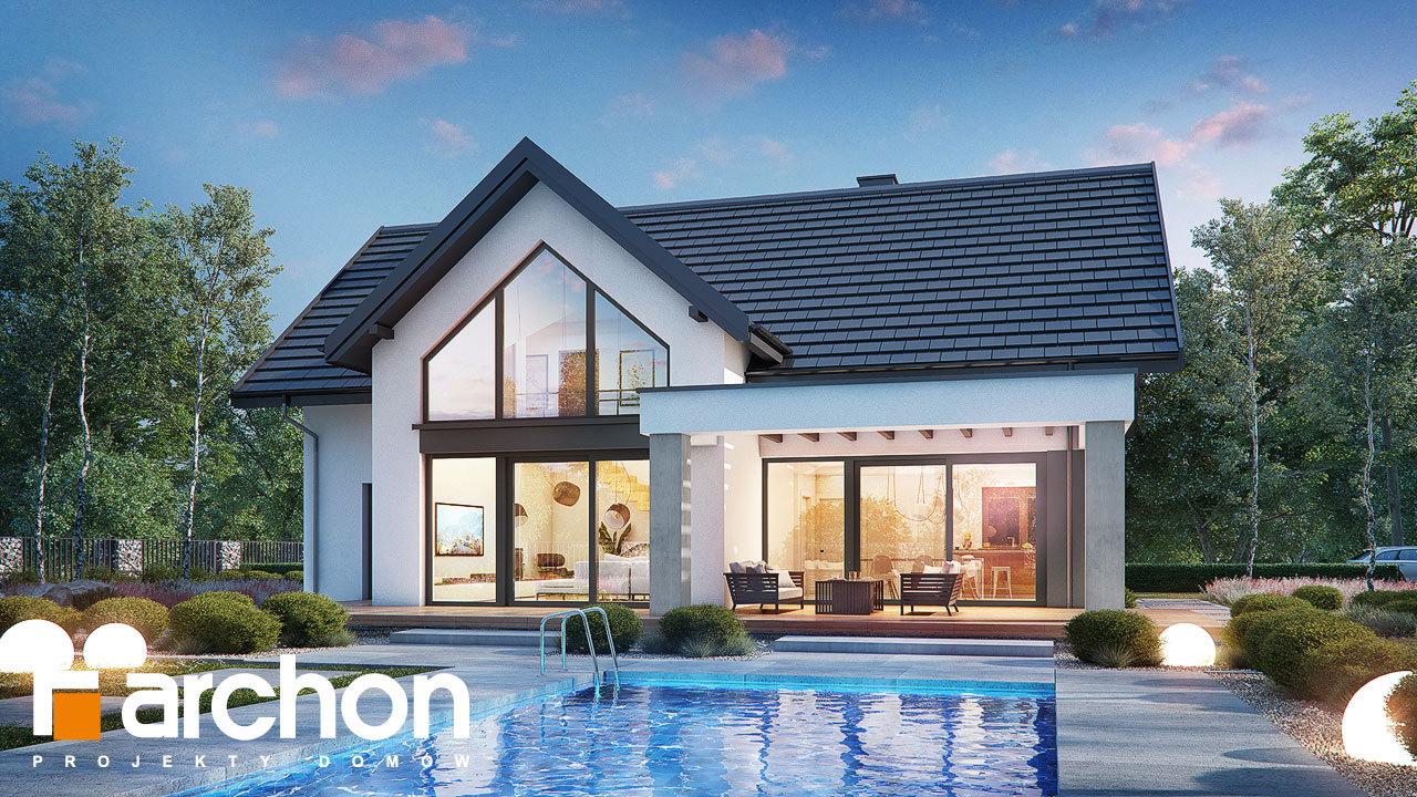 Проект будинку ARCHON+ Будинок в мірабілісах (Г2)