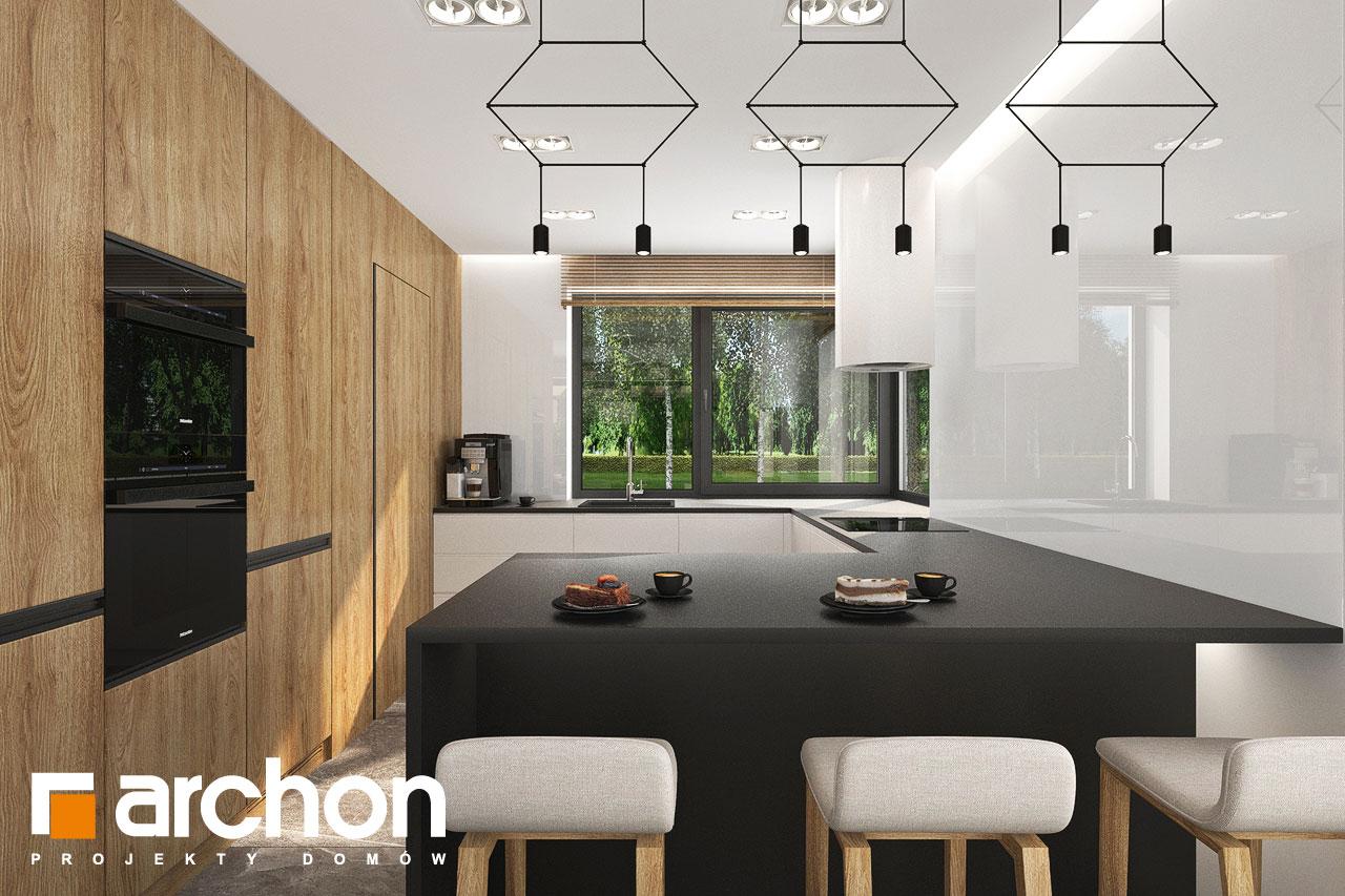 Проект будинку ARCHON+ Будинок в мірабілісах (Г2) візуалізація кухні 1 від 1