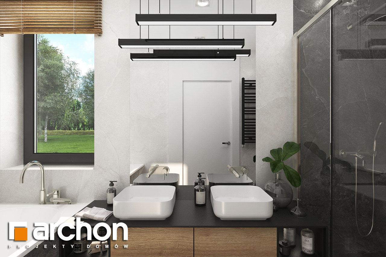 Проект будинку ARCHON+ Будинок в мірабілісах (Г2) візуалізація ванни (візуалізація 3 від 1)
