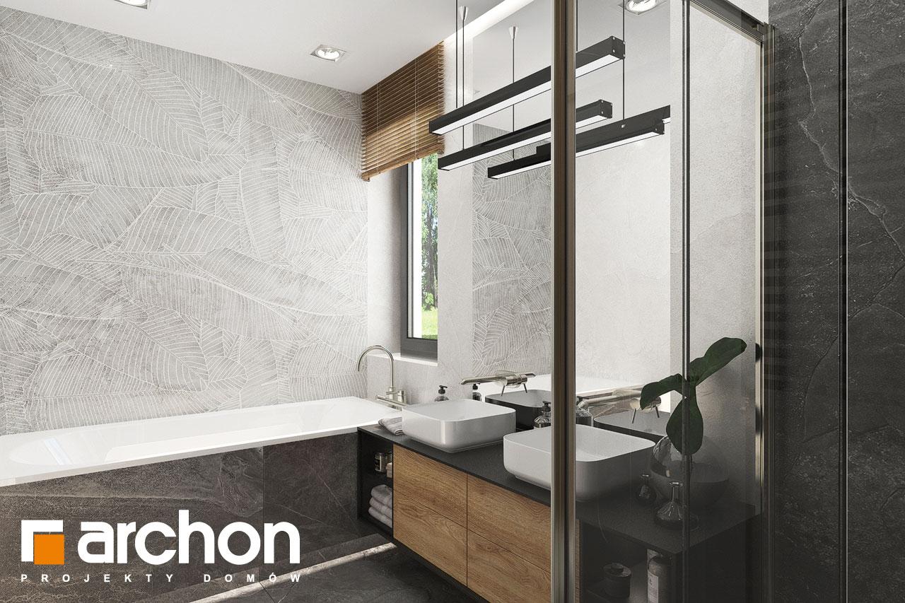 Проект будинку ARCHON+ Будинок в мірабілісах (Г2) візуалізація ванни (візуалізація 3 від 3)
