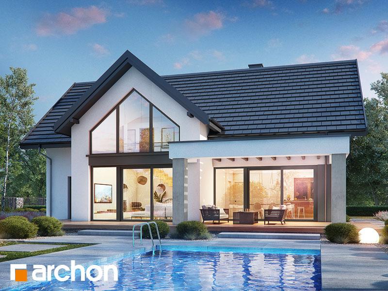 Проект будинку ARCHON+ Будинок в мірабілісах (Г2) Вид 1