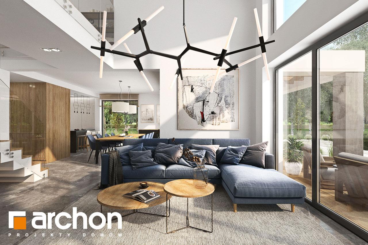 Проект будинку ARCHON+ Будинок в мірабілісах (Г2) денна зона (візуалізація 1 від 1)