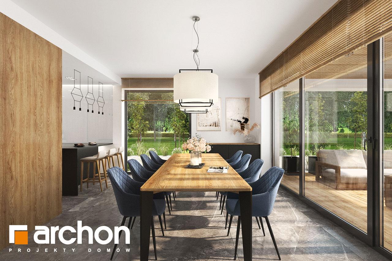 Проект будинку ARCHON+ Будинок в мірабілісах (Г2) денна зона (візуалізація 1 від 2)