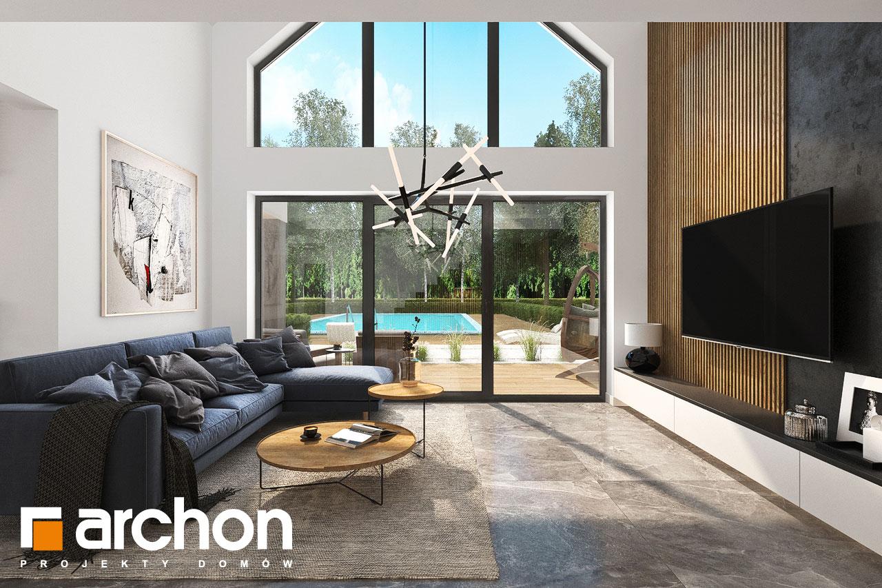 Проект будинку ARCHON+ Будинок в мірабілісах (Г2) денна зона (візуалізація 1 від 4)