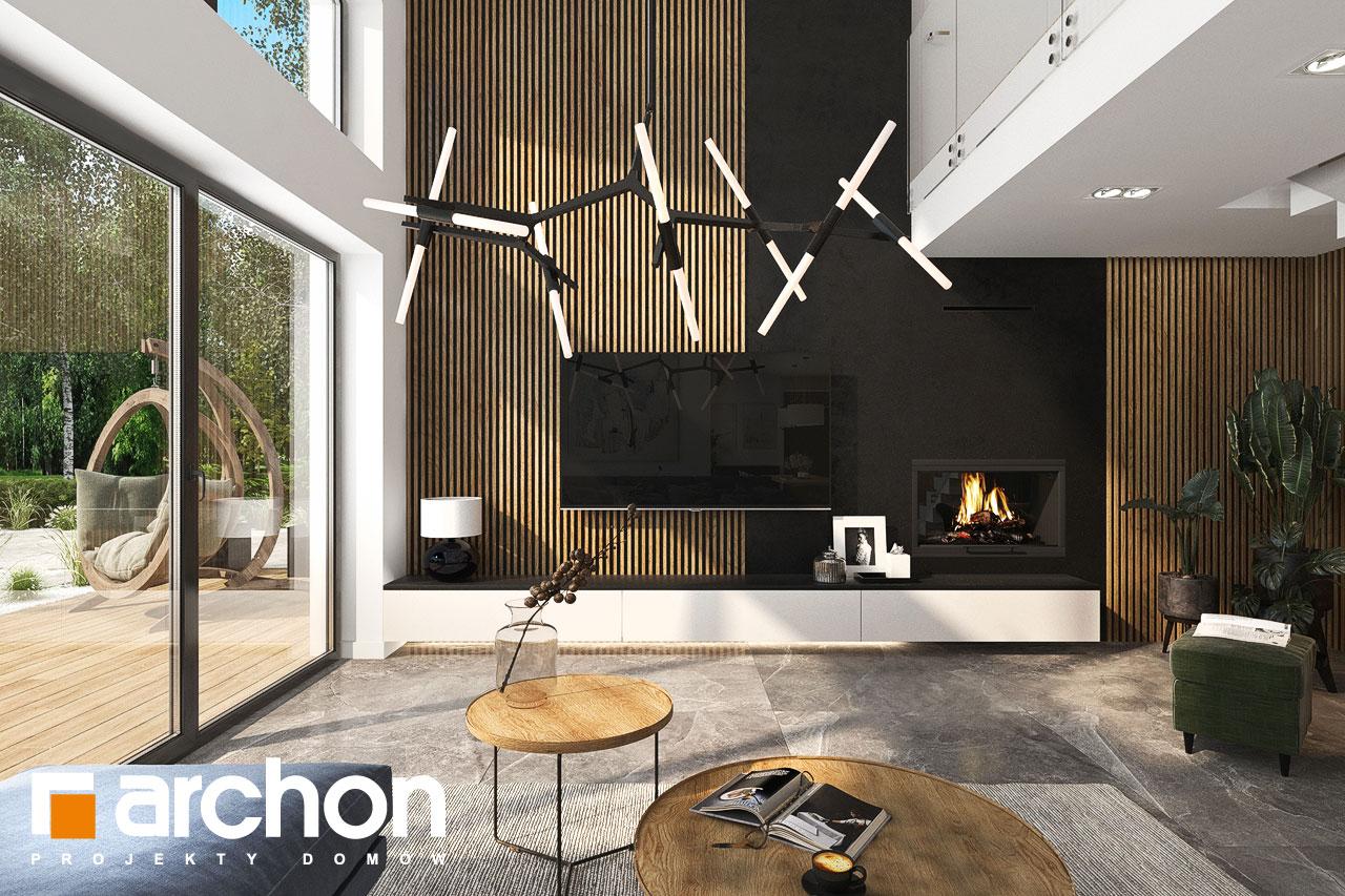 Проект будинку ARCHON+ Будинок в мірабілісах (Г2) денна зона (візуалізація 1 від 5)