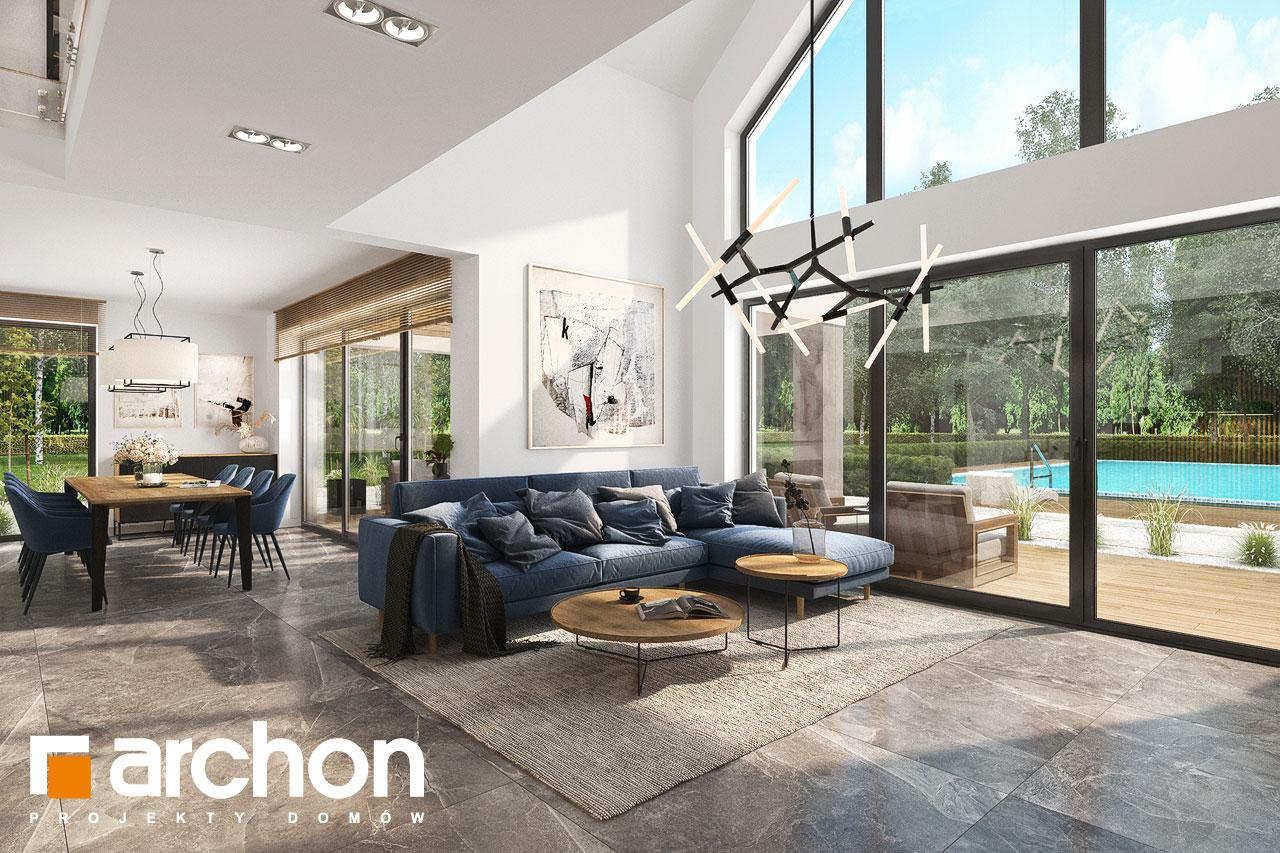 Проект будинку ARCHON+ Будинок в мірабілісах (Г2) денна зона (візуалізація 1 від 8)