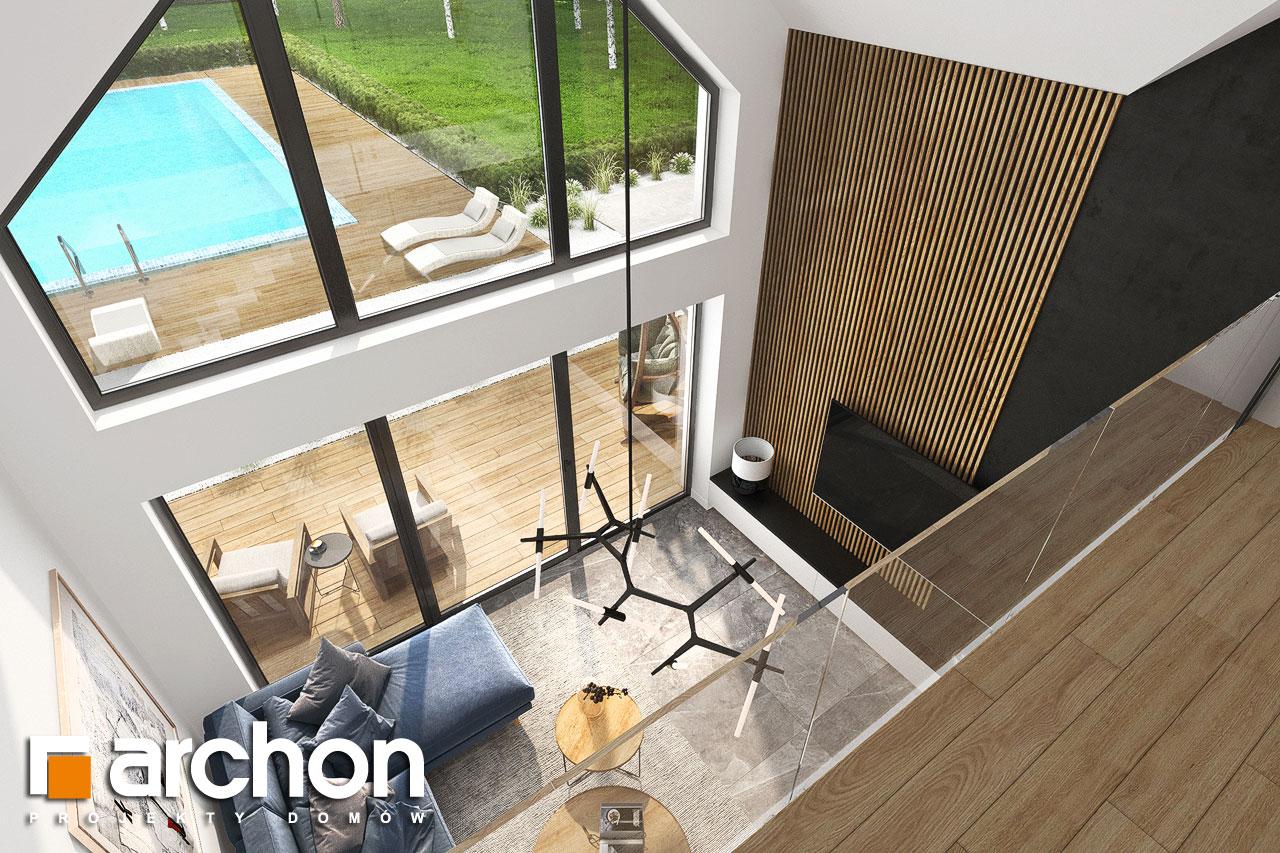 Проект будинку ARCHON+ Будинок в мірабілісах (Г2) денна зона (візуалізація 1 від 9)