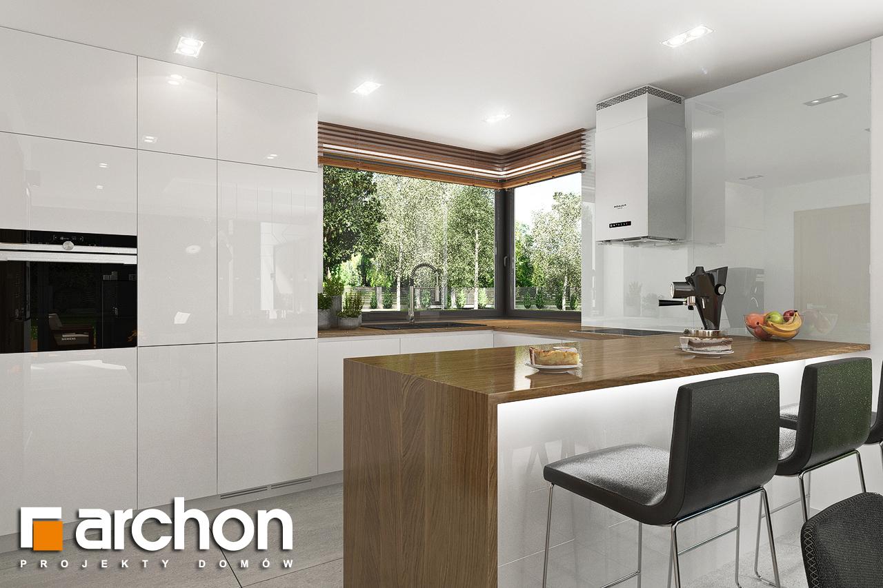 Проект будинку ARCHON+ Будинок в ветіверії  візуалізація кухні 1 від 1