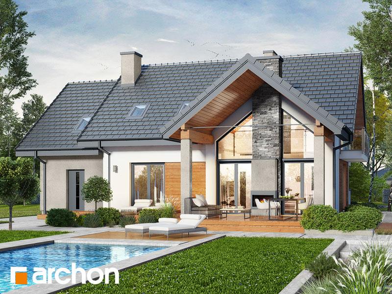Проект будинку ARCHON+ Будинок в ветіверії  Вид 1