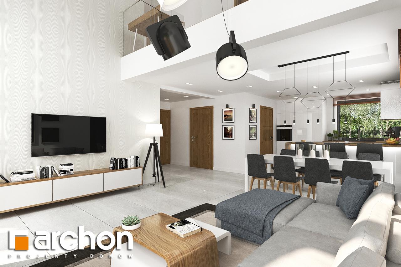 Проект будинку ARCHON+ Будинок в ветіверії  денна зона (візуалізація 1 від 1)