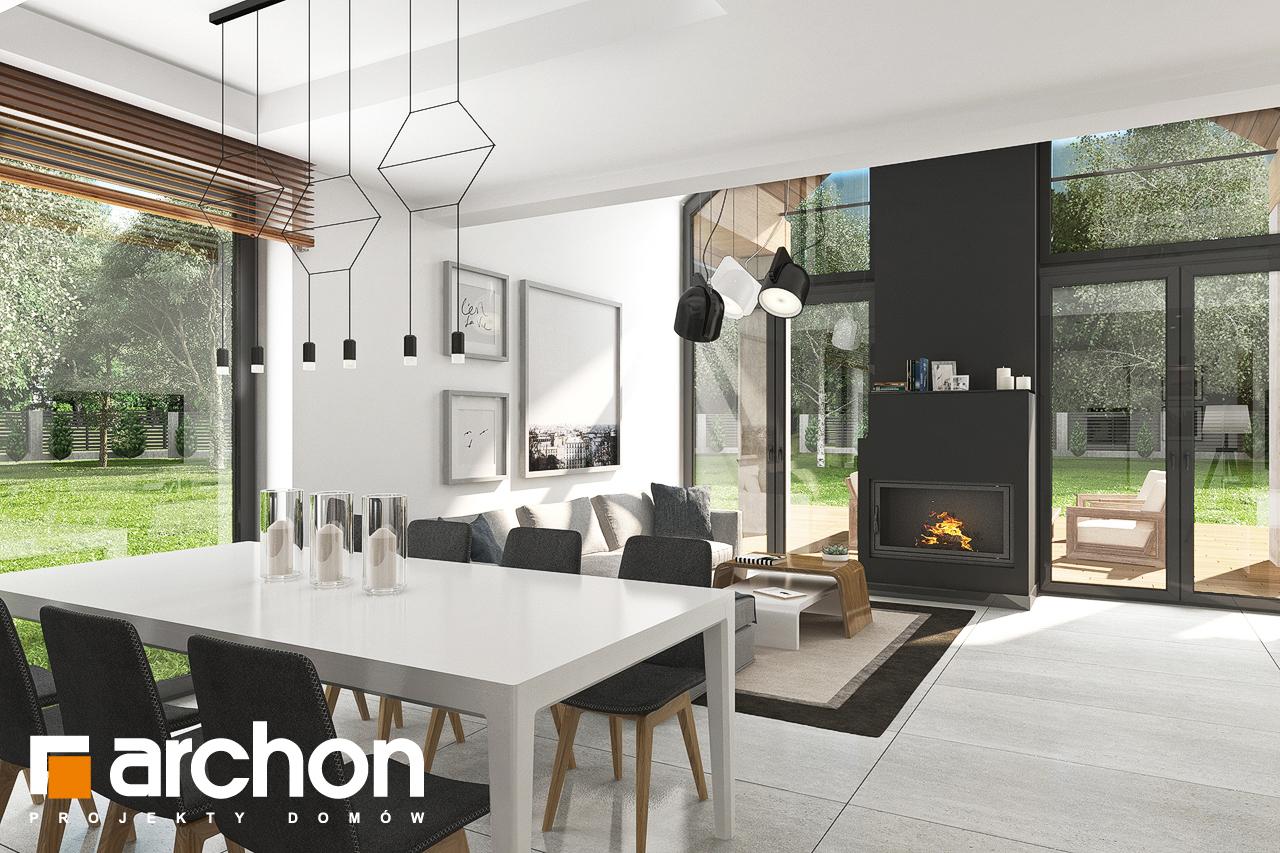 Проект будинку ARCHON+ Будинок в ветіверії  денна зона (візуалізація 1 від 3)