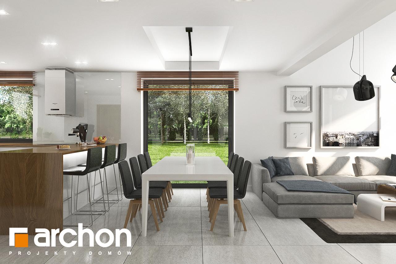 Проект будинку ARCHON+ Будинок в ветіверії  денна зона (візуалізація 1 від 4)