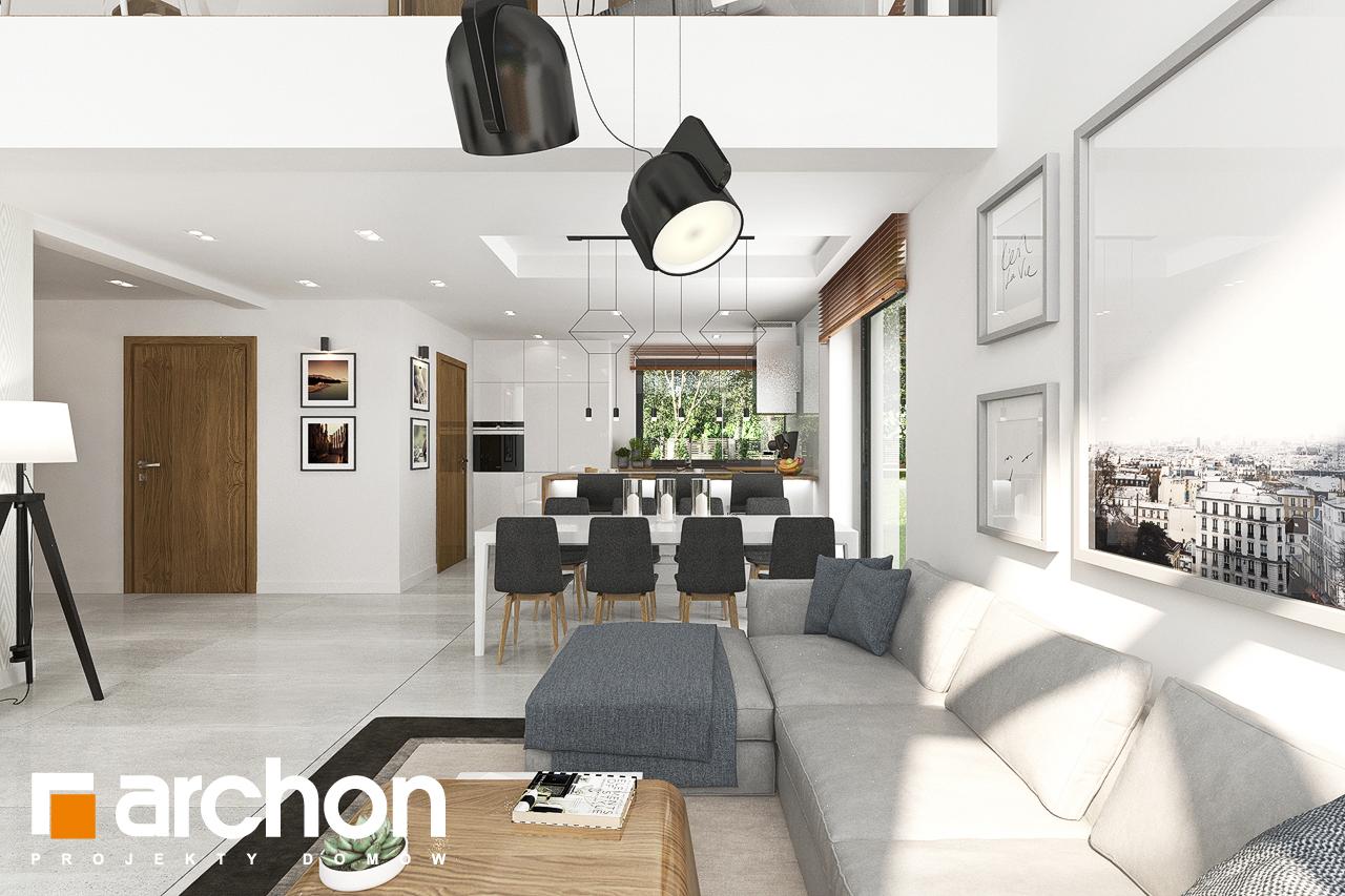 Проект будинку ARCHON+ Будинок в ветіверії  денна зона (візуалізація 1 від 5)