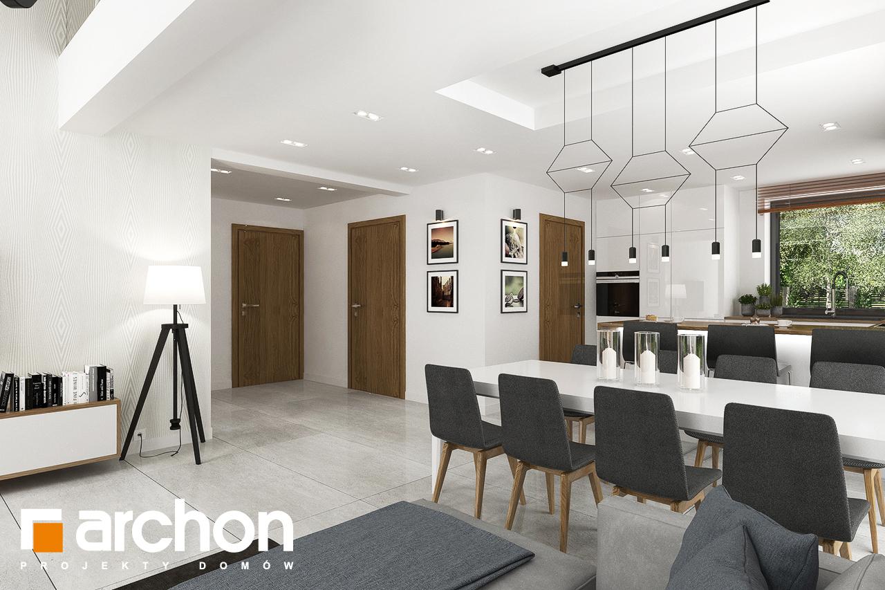 Проект будинку ARCHON+ Будинок в ветіверії  денна зона (візуалізація 1 від 6)