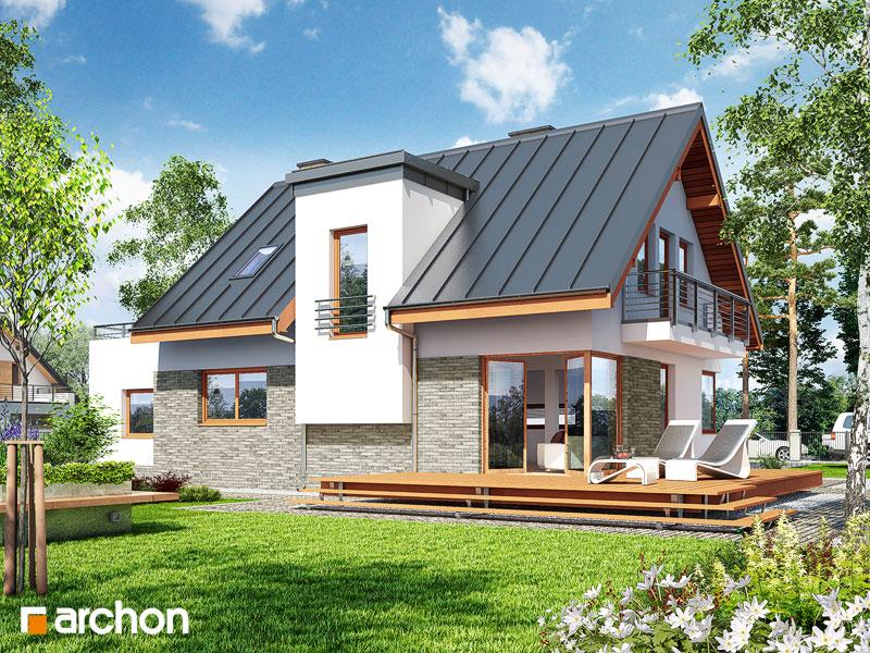 Проект будинку ARCHON+ Будинок в амарилісах 3 стилізація 4