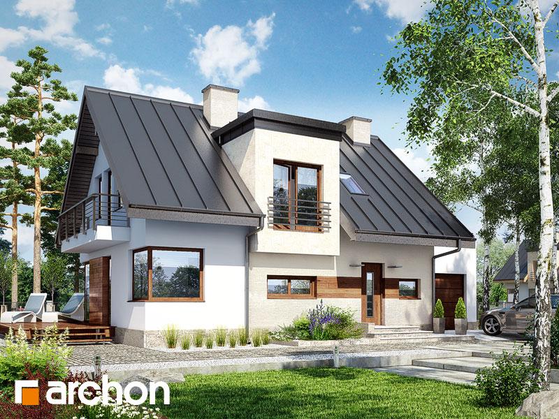 Проект дома ARCHON+ Дом в амариллисах 3 ver.2 Вид 1