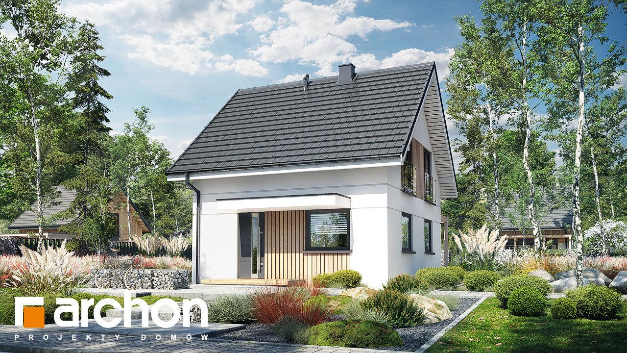 Проект будинку ARCHON+ Літній будиночок на галявині