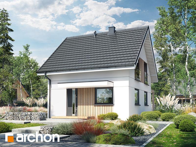 Проект будинку ARCHON+ Літній будиночок на галявині Вид 1