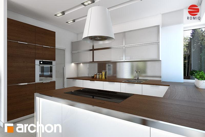 Проект будинку ARCHON+ Вілла Вероніка 3 (П) візуалізація кухні 1 від 3